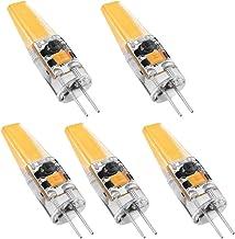 Blesiya 5 Stks Dimbare COB LED Licht G4 12 V Lamp Siliconen Kristallen Lamp 3 W 3000 K 38 MM