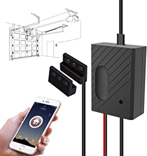 TEEKAR WiFi Garage Door Opener Kit Smartphone Control...