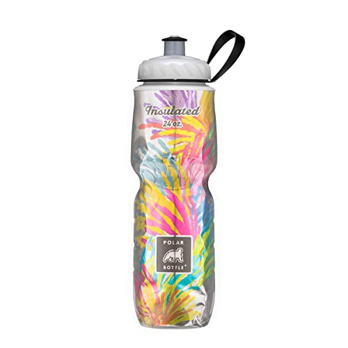 Polar Bottle Insulated Water Bottle 24 oz - 100% BPA-Free Cycling and Sports Water Bottle - Dishwasher & Freezer Safe (Starburst, 24 ounce)