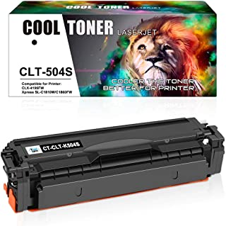 Cool Toner Compatible Toner Cartridge Replacement for Samsung CLT-K504S CLT-504S for Samsung Xpress C1860fw C1810w SL-C186...
