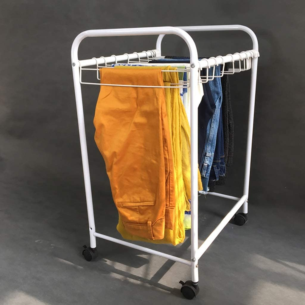Oakland Mall Pants Cheap bargain Hanger Cart Clothing Storage with Organizer Wheels