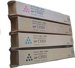 Ricoh Brand OEM MP C3503 Toner High Yield Set