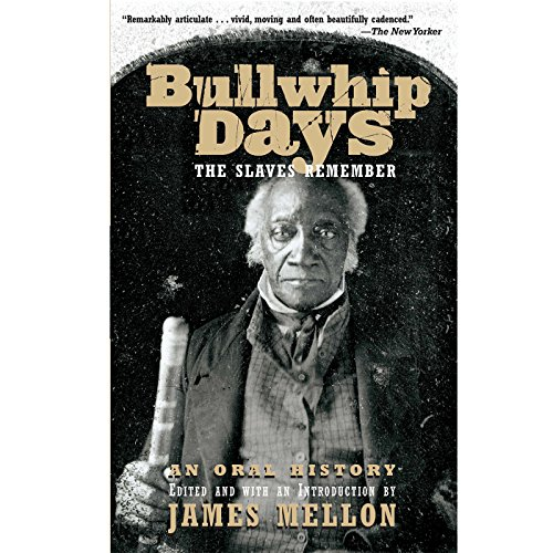 Bullwhip Days audiobook cover art