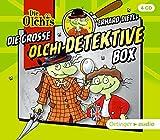 Die große Olchi-Detektive-Box: (4 CD): Hörspielbox mit 4 Folgen Olchi-Detektive, ca. 190 min. - Erhard Dietl