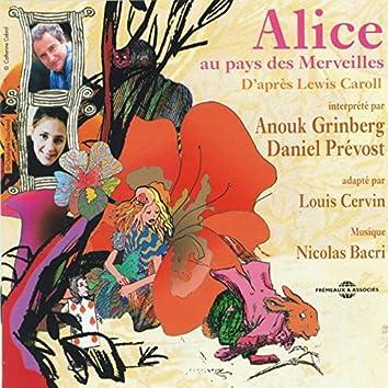 Alice au pays des merveilles d'après Lewis Carroll