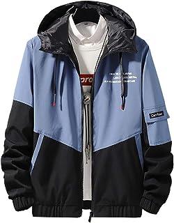 Lifetooler ジャケット メンズ マウンテンパーカー おおきいサイズ 防風 防寒 ウィンドブレーカー フード 人気アウター メンズ服 秋 冬
