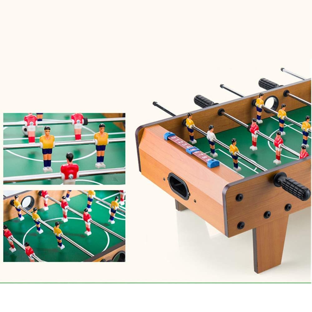 Mesa de futbolín Portátil de mano de recreo de fútbol tabla de Foosball Juegos Competición Deportes Juegos de sobremesa compacto juego de fútbol for adultos y niños Tabla de futbolín para adultos