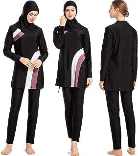 41a3ad5a7f ziyimaoyi Maillots de Bain musulmans pour Femmes Filles Modest Islamique  Hijab Burkini Maillots de Bain musulmans