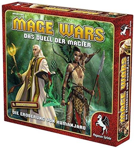 Pegasus Spiele 51864G - Mage Wars Die Eroberung von Kumanjaro