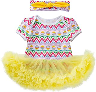 96383912c685 ❤Ywoow❤ Toddler Newborn Baby Girls Princess Easter Eggs Tutu Dress Outfits  Set