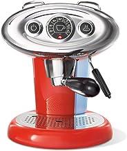 illy Kaffemaskin X7.1, Iperespresso-kapselkapslar, kaffemaskin med mjölkångkokare, röd
