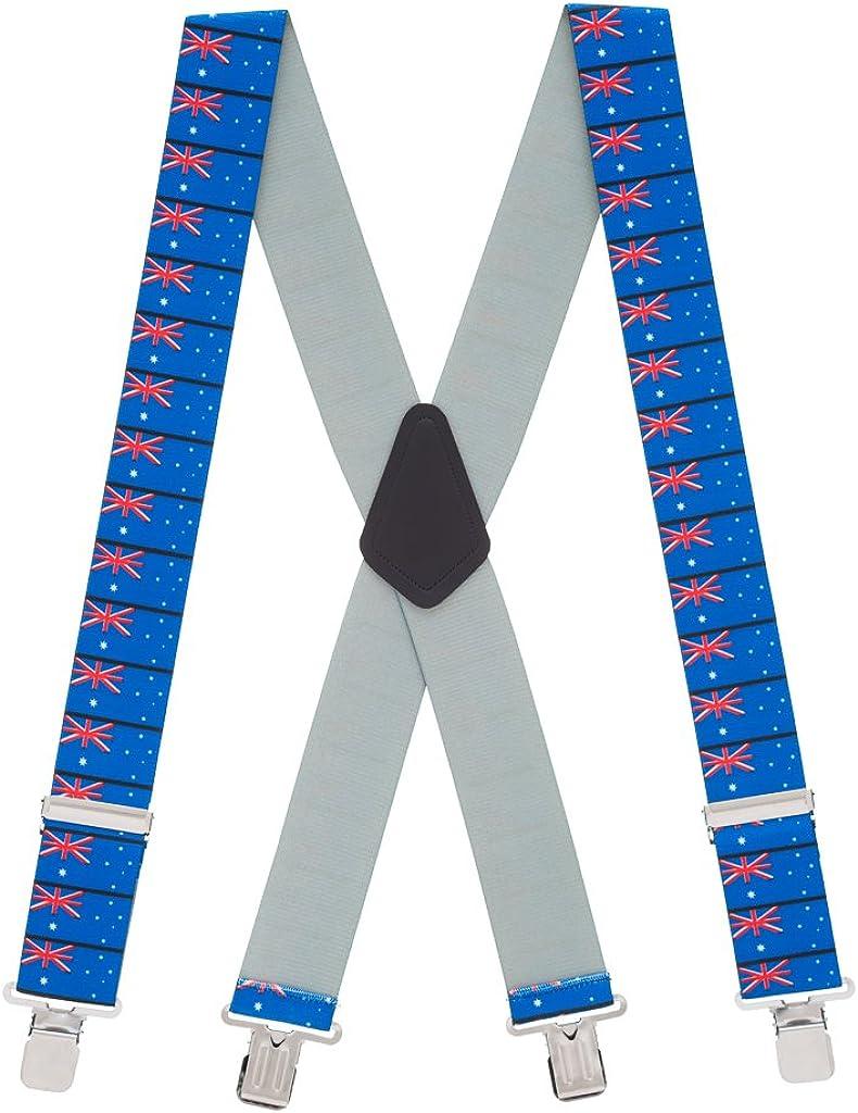 SuspenderStore Men's Australian Flag Suspenders