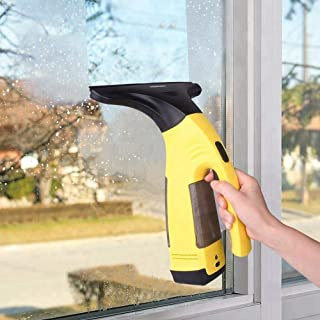 Window Vacuum Cleaner, Cordless Handheld Electrical Window Vac Rechargeable Powerful Suction With Cleaning Tool Accessories For Windows,Mirror,Car Windows, Tiles, Shower,Cabinets And Smooth Surface