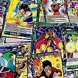 Dragon Ball - Lote de 50 Cartas comunes aleatorias en inglés
