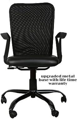 TIMBER CHEESE Ergonomic Mesh Chair (Large, Black)