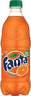 Fanta Orange Soda Fruit Flavored Soft Drink, 20 fl oz