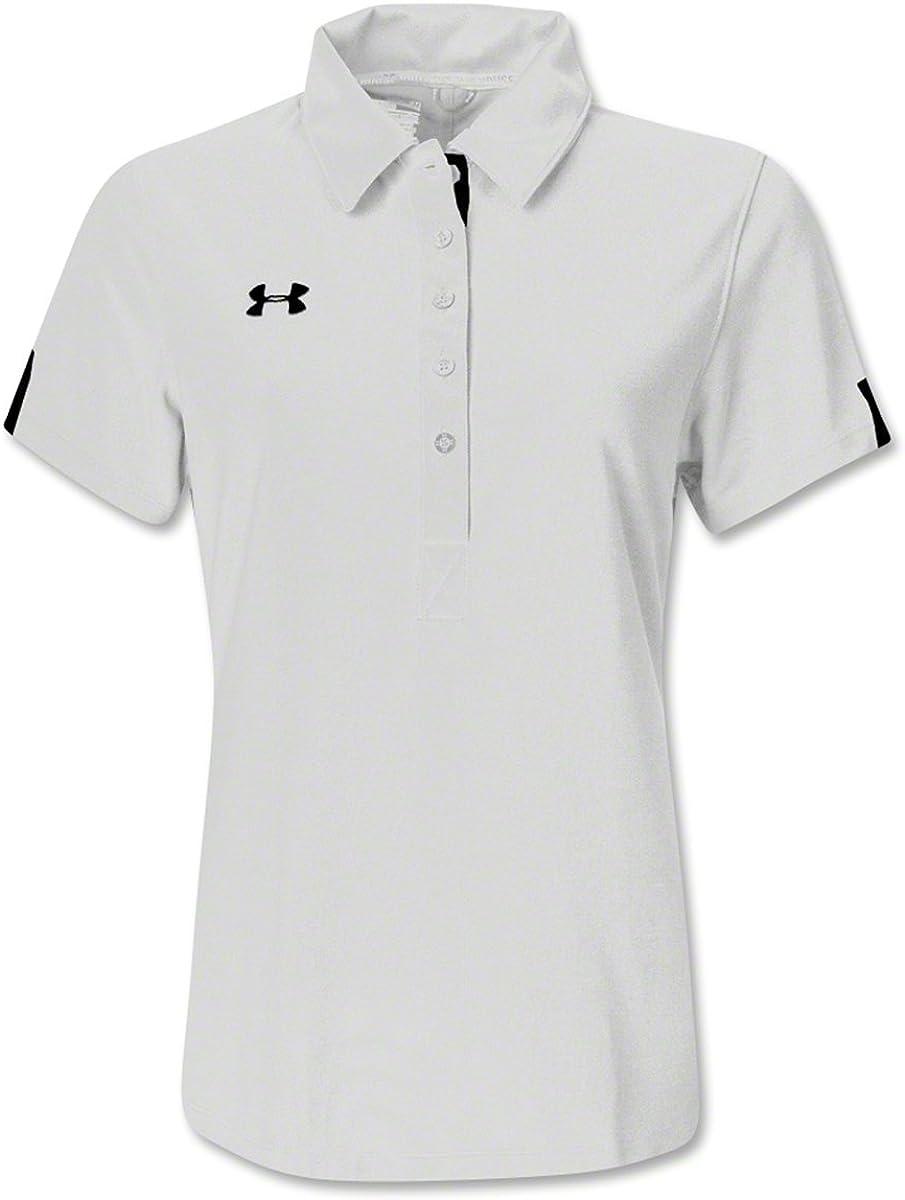 Under Armour Women's Coaches Polo White Size XL