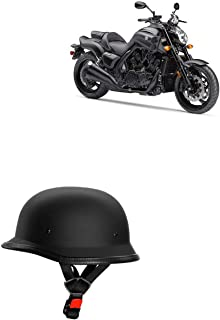 Adroitz All Purpose Safety Bikes Helmet with Strap for Royal Enfield Thunderbird 350X (Black)