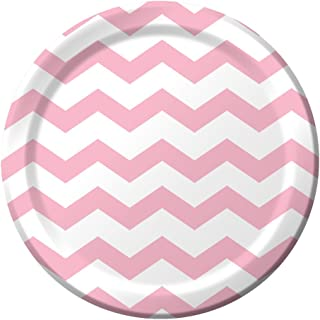 Best pink and white chevron paper plates Reviews