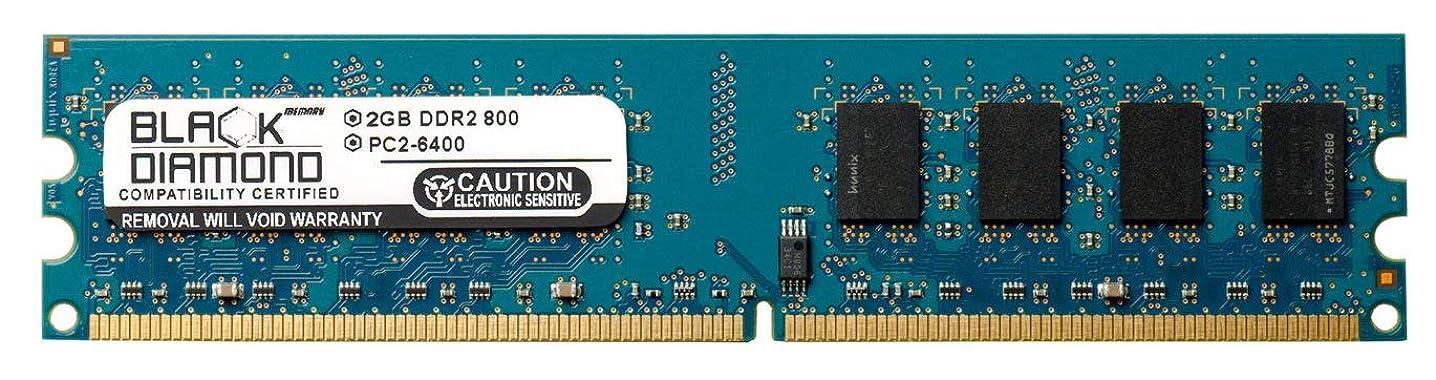 2GB RAM Memory for Asus M2 Series M2N68-LA (Narra2) 240pin PC2-6400 DDR2 DIMM 800MHz Black Diamond Memory Module Upgrade