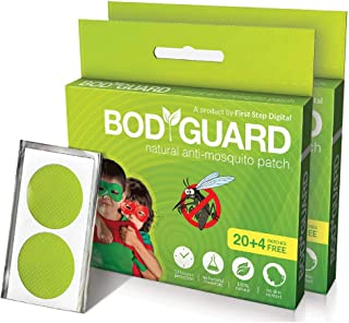 Body Guard Natural Mosquito Repellent Patches, 2 x 24 Count