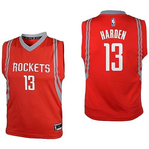 new styles 68635 b2e9a Harden Jersey: Amazon.com