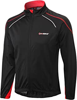 INBIKE Cycling Running Jacket Mens Windproof for Outdoor Multi Sports