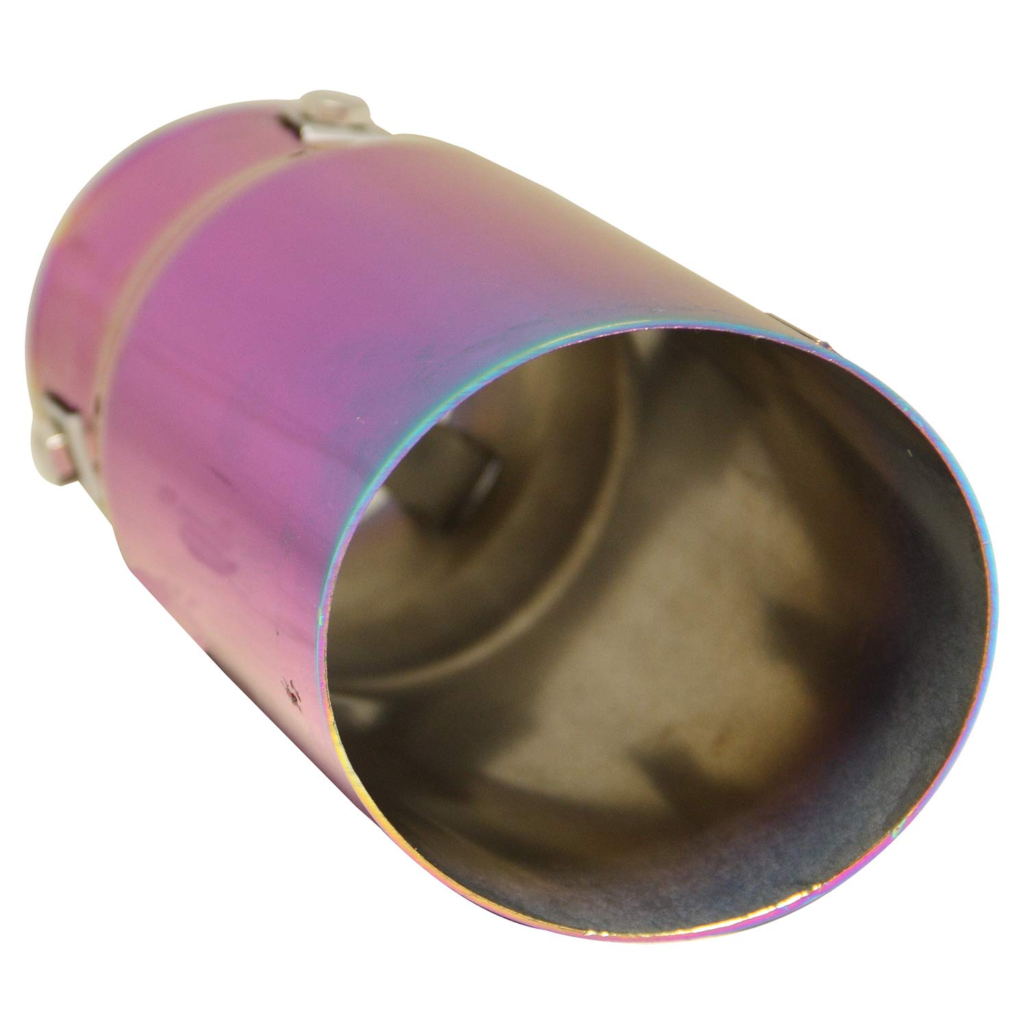 DC Sports EX-1021 Chameleon Anodized Round Exhaust Tip