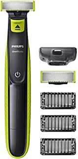 Philips Norelco OneBlade hybrid electric trimmer and shaver, 1 Extra Blade