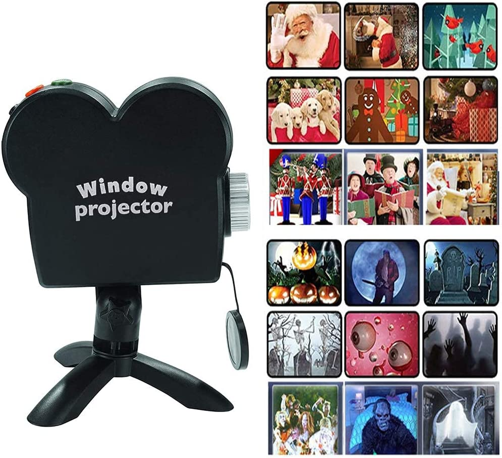 Halloween Christmas Window Projector Discount mail order Projection Luxury Holographic wit