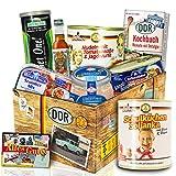 DDR Geschenk Set - herzhafte Ost Box - DDR Produkte Geschenk