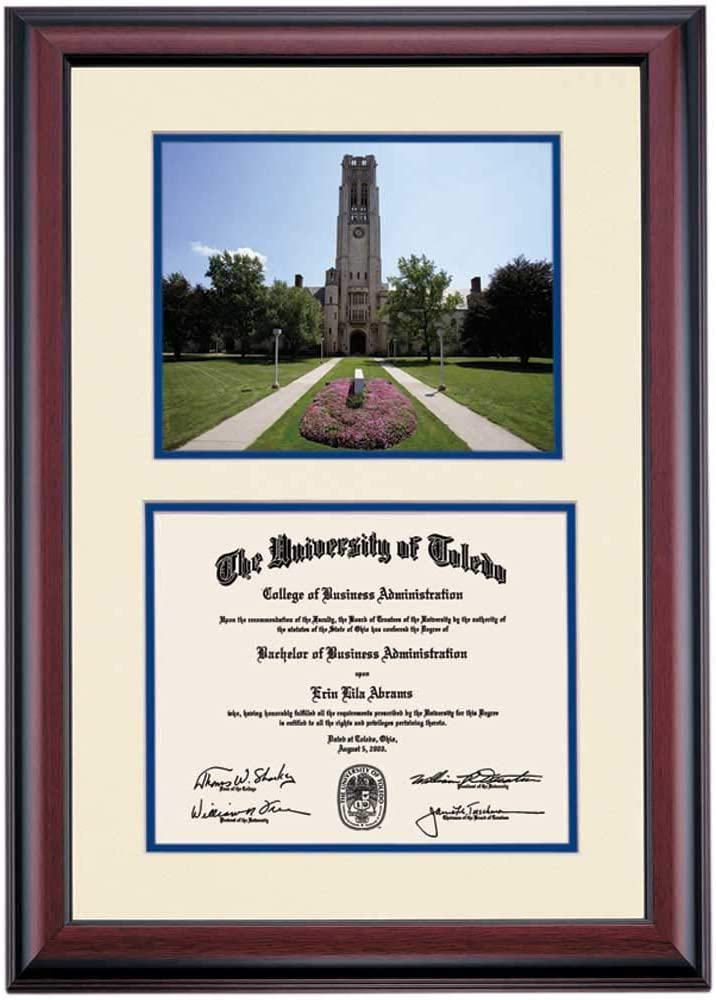 OCM DiplomaDisplay Premier Frame for University Ro The of Popular shop is the lowest price challenge Toledo Tucson Mall