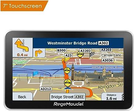 Car GPS Navigation, RegeMoudal 7 Inch Vehicle GPS Navigation for Car System 8G Memory Portable