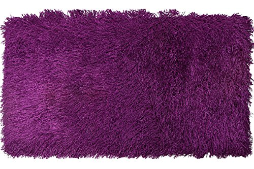 Euphoria Tapis à poils longs et doux pour salon 9 couleurs et 5 tailles Violet 160 x 230 mm