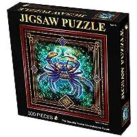 12の星座ジグソーパズル300ピース、Cancerパズル、スクエアパズル、難しいパズル、ユニークなエンターテイメントファンタジーパズルおもちゃゲーム