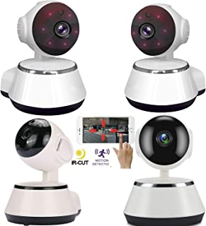 4PCS Wireless Camera HD Wifi Home Security Smart IP Cameras P2P 720P CCTV Network Webcam V380 Baby Monitor Indoors Surveil...