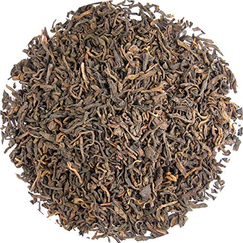 Pu erh thee, post gefermenteerde thee, 100 gram losse thee