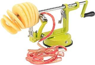 Apple Peeler and Corer,Stainless Steel Apple Corer Slicer Peeler Spiral Apple/Potato Peeler Slicer Corer Durable Heavy Duty Blade Multicolor Peelers