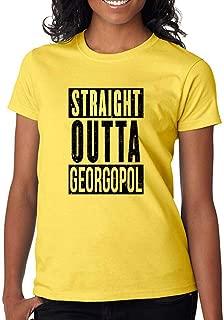 DanielDavis Gamer Fan Straight Out of Georgopol Custom Made Women's T-Shirt