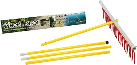 Weed Raker The by Jenlis, Weed & Grass Removal Tool for Lakes, Ponds & Beaches