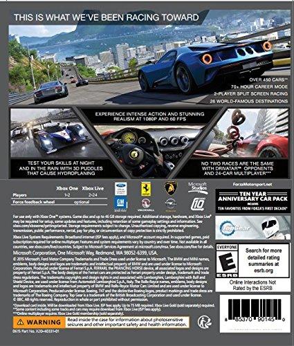Forza Motorsport 6 - Xbox One by Microsoft: Amazon.es: Videojuegos
