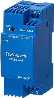 AC/DC DIN Rail Power Supply (PSU), 1 Output, 25.2 W, 12 V, 2.1 A