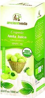 Amla Juice Organic / Indian Gooseberry 1000 ml - USDA Certified Organic
