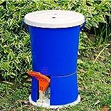 HRD Manuelle Waschmaschine, tragbare Nicht elektrische Waschmaschine und Trockner mit Pedalantrieb, Camping, Dörrgerät für Studentenwohnheime