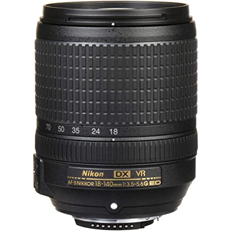 Nikon AF-S DX Nikkor 18-140mm F/3.5-5.6 G ED VR Zoom Lens for Nikon DSLR Camera