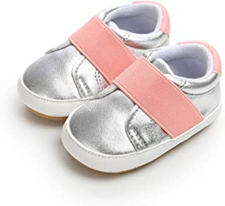 AUPUMI Infant Baby Girl Boy Shoes Loafer Flat Shoes Prewalker Moccasin First Walkers Casual Slip On Sneaker for 6-18 Months