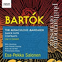 Bart?k: The Miraculous Mandarin - Dance Suite - Contrasts by Philharmonia Orchestra