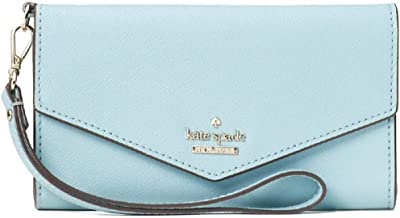 Kate Spade New York Laurel Way Wristlet Wallet Folio Case (Compatible with iphone 6, iphone 7, iphone 8, iphone x/xs)