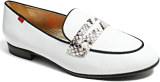 Genuine Leather Made in Brazil Womens Bryant Park 2.0 Loafer, White Nappa Soft/Viper, 6.5 US