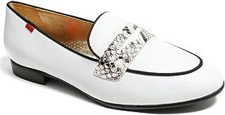 جلد أصلي مصنوع في يل حذاء Bryant Park 2.0 بدون كعب أبيض نابا ناعم/فايبر، 6.5 US